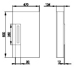 Rozměry Invisibass I bez desky